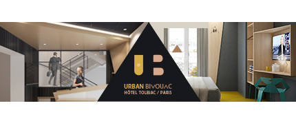Urban bivouac hotel paris